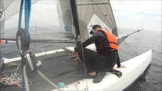 preview picture of video 'Fun Sailing with the Catamaran Gang 2014-08-17 - Mississauga Sailing Club'