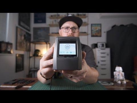 Tabletop 35mm Film Scans vs. Professional Lab Scans
