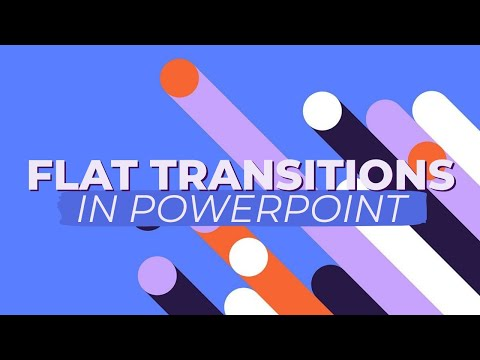 Flat Transitions In Powerpoint - Motion Graphics Tutorial - смотреть