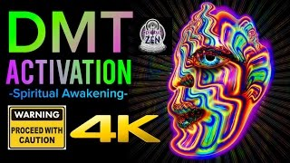 DMT SPIRITUAL ACTIVATION FREQUENCY - INTENSE SPIRITUAL AWAKENING! WARNING! ONLY LISTEN WHEN READY