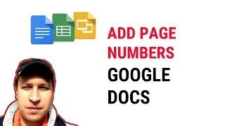 HOW TO ADD PAGE NUMBERS IN GOOGLE DOCS?