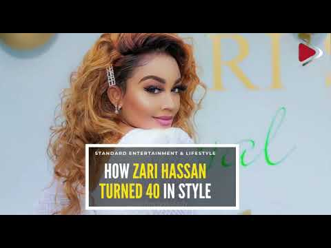 How Zari Hassan turned 40 in style