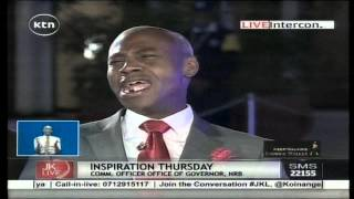 Jeff Koinange Live [Part 1] Nyambane gives 'Retired President Daniel arap Moi' a new meaning