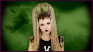 Прическа на ХЭЛЛОУИН 🎃🎃🎃 Halloween Hairstyle Tutorial