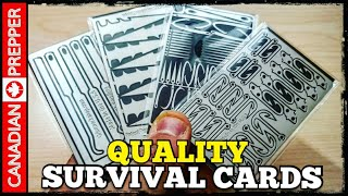 NEW! Survival Card Tools | EDC Ready | Quality