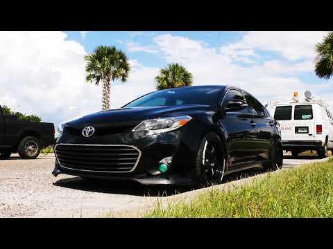 Toyota Avalon | Work Wheels | Stance | 4K