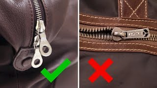 Buying A Leather Bag? Look For These 3 Things