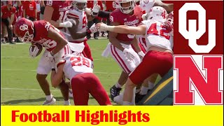 Nebraska vs #3 Oklahoma Football Game Highlights 9 18 2021