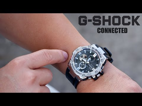 Casio G – Shock G Steel Connected Bluetooth Watch Review!
