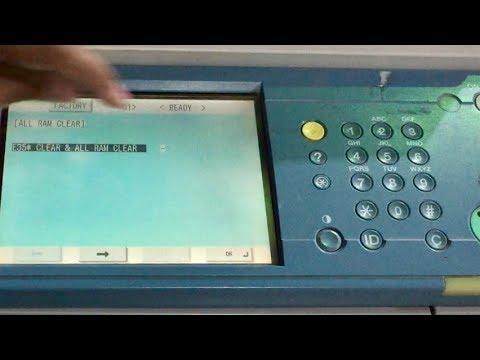 Xerox 5755 Nvm Reset