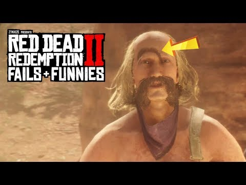 Red Dead Redemption 2 - Fails & Funnies #50