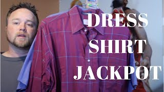 Yard Sale Haul | Brooks Brothers, Ralph Lauren and Paul Fredrick