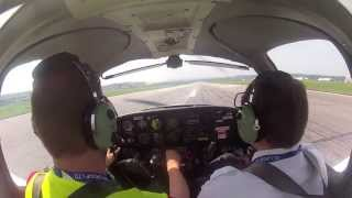 preview picture of video 'Touch and go at EGNR/Hawarden'