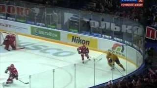 KHL. Gagarin Cup 2011. West final. 5th match. Lokomotiv — Atlant 3:2 OT