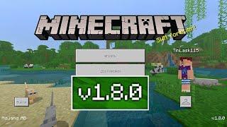 ВЫШЕЛ НОВЫЙ Minecraft PE 1.8.0 | СКАЧАТЬ БЕСПЛАТНО