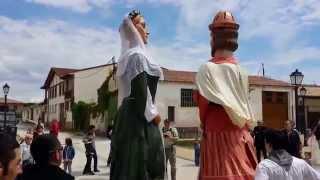 preview picture of video 'GIGANTES DE BURLADA OBANOS- ZUBIONDO GAITEROAK'