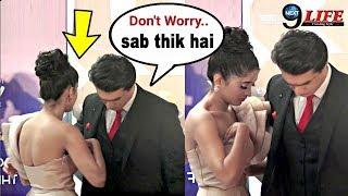 Mohsin Khan Saves Girlfriend Shivangi Joshi's EMBARASSING Moment | Yeh Rishta Kya Kehlata Hai
