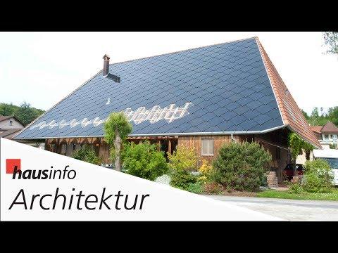 Architektur-Reportage: Wenn das Dach zum Kraftwerk wird