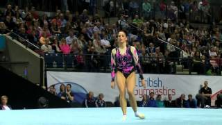 Lisa Mason - Floor - BRONZE - 2015 British Gymnastics Championships - Apparatus Finals