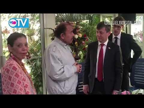 Daniel y Rosario sostienen encuentro con Vicepresidente del Comité Central del Partido Comunista de Rusia