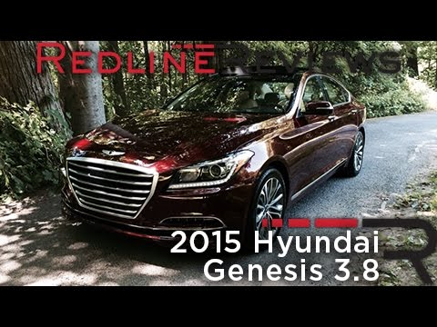 Car Review: 2015 Hyundai Genesis 3.8