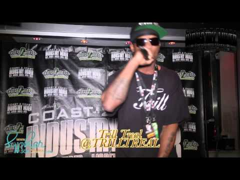 Trill Treal Performs Live @ Coast2Coast Mixtape Atl Mixer 2013