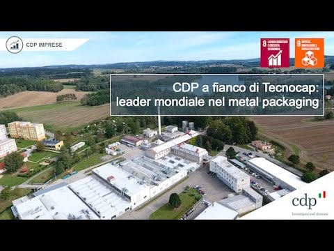 CDP a fianco di Tecnocap SpA, leader mondiale nel metal packaging.
