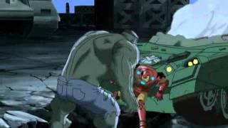 The Avengers vs The Hulk (HQ)