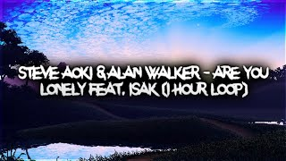 Steve Aoki & Alan Walker   Are You Lonely Feat. ISAK (1 Hour)
