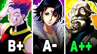 The Top 20 BEST NEN USERS in Hunter X Hunter!   New World Review