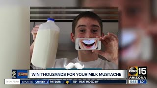 Win thousands for your milk mustache