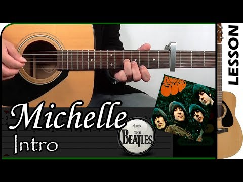 How To Play Michelle Intro - The Beatles / Guitar Tutorial 🎸 Mp3