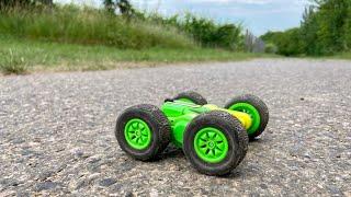 Carrera RC Mini Turnator - 360° Stunt Action Car -  Outdoor Test & Unboxing