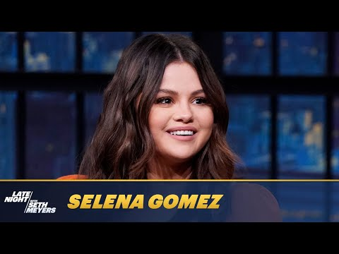 Selena Gomez Teaches Seth How to Correctly Apply Mascara