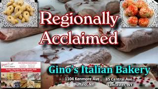 """DISC 156 - """"Gino's Italian Bakery"""", Lancaster & Kenmore, NY"""