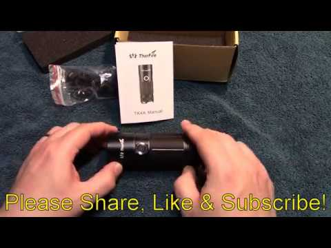 ThorFire TK4A Flashlight Review!