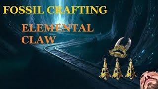 Path of Exile : Elder leather belt fossil crafting - Самые