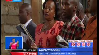 Wiper gubernatorial aspirant Wavinya Ndeti takes to the courts to seek justice against IEBC