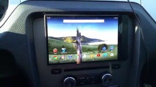 How to Install Tablet in a car for 10 bucks