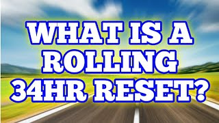 What Is A Rolling 34hr Reset? and How To Do It