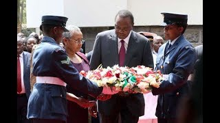 President Uhuru says the Kenyatta family will not to hold any other