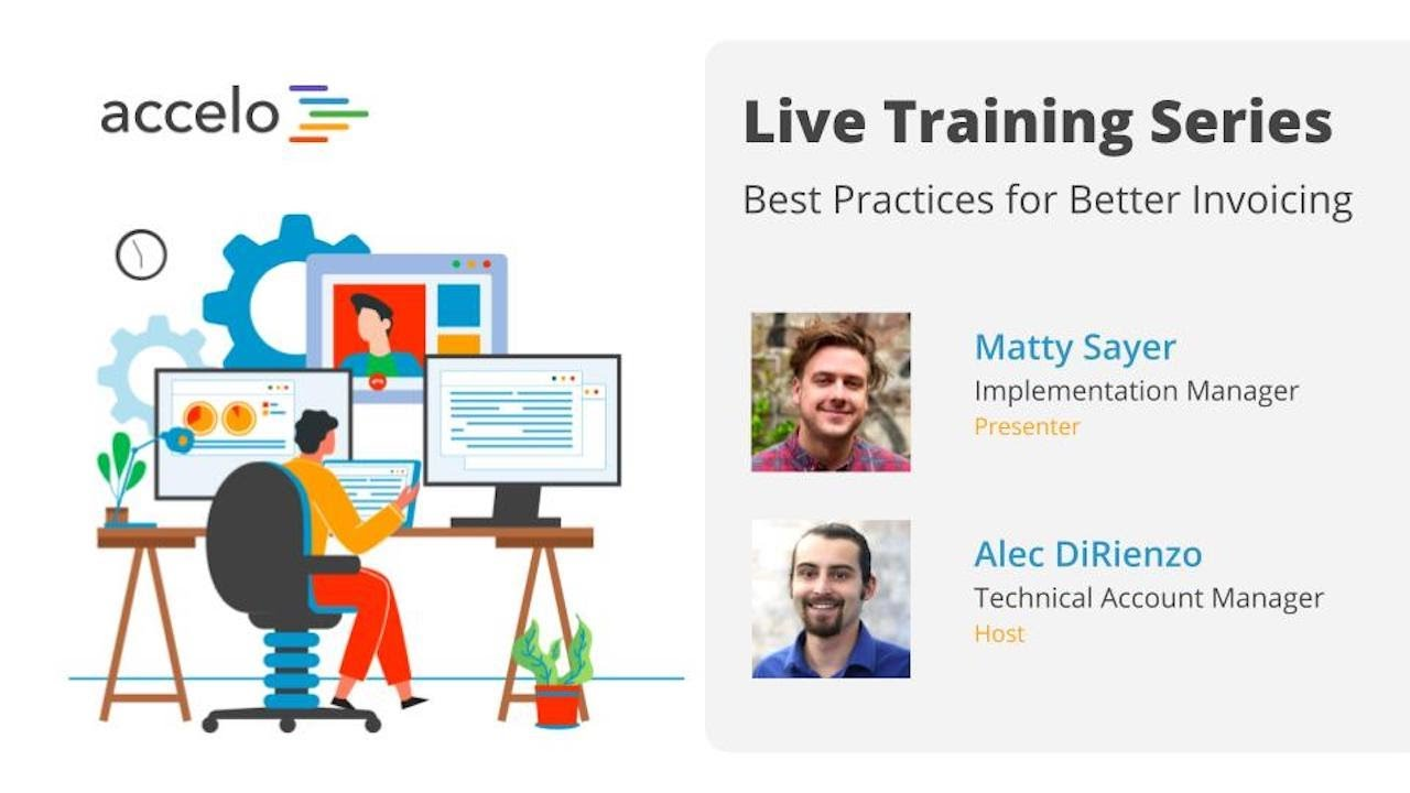 Live Training Series: Best Practices for Better Invoicing