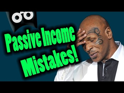 Don't Make These Passive Income Mistakes