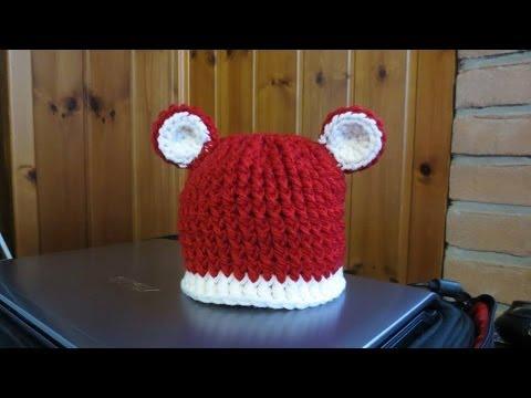 Colorful Crochet Tutorial Cappello Alluncinetto Per Bimbao Con