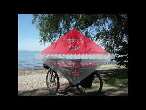 Das Trekkingrad - Reiserad / Komponente, Aufbau und Eigenschaften