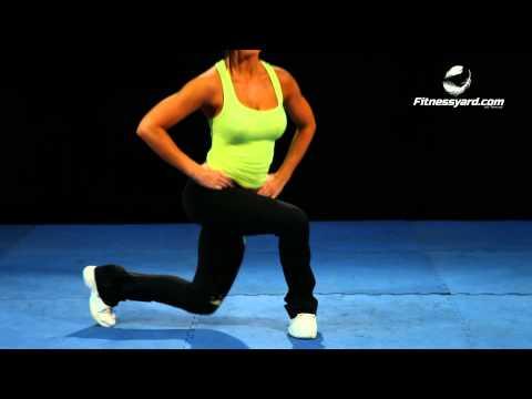 Bodyweight Curtsy Split Squat