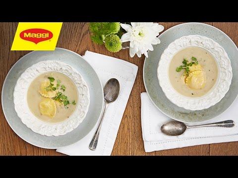 Ravioli & Mushroom Soup