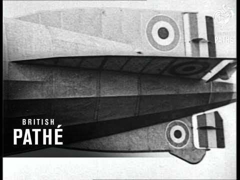 Aviation - Airship Italia In Arctic & R 34 Flight To Usa (1928)