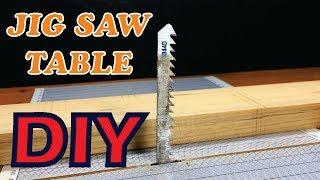 How To Make Jig Saw Table   DIY Jig Saw Table