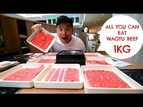 Eating Show :: All You Can Eat Wagyu Beef (Shabu Shabu)